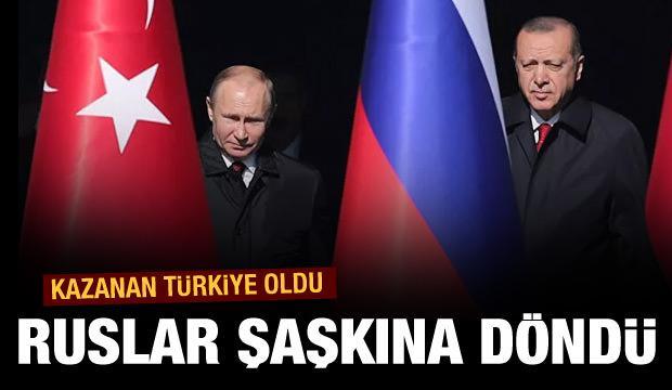Türkiye Rusları şaşkına çevirdi