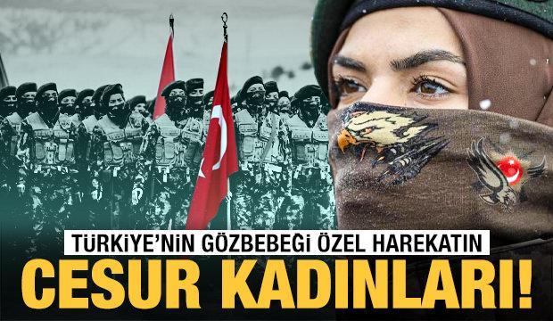 Türkiye'nin gözbebekleri: Kadın Özel Harekâtçılar!