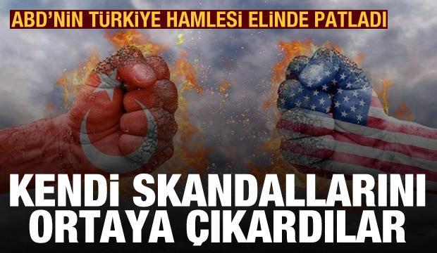 ABD'nin Türkiye hamlesi, kendi skandallarının ortaya çıkmasına sebep oldu
