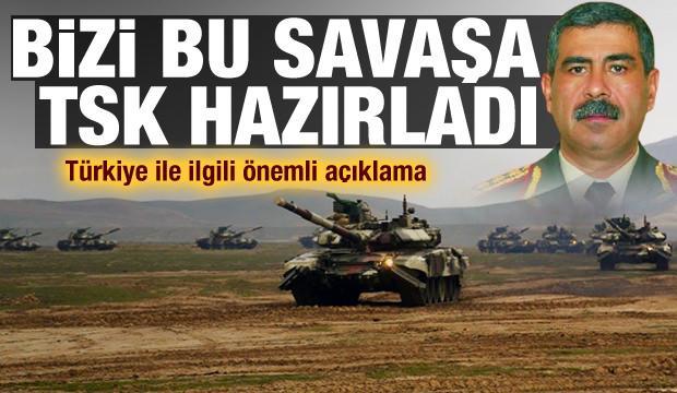 Hasanov: Bizi savaşa Türk Silahlı Kuvvetleri hazırladı