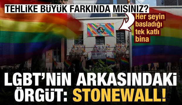 LGBT'nin arkasındaki örgüt: Stonewall