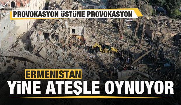 Ermenistan'dan provokasyon üstüne provokasyon! İlk uyarı geldi...