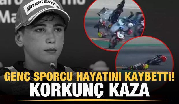 Genç motosikletçi Hugo Millan hayatını kaybetti