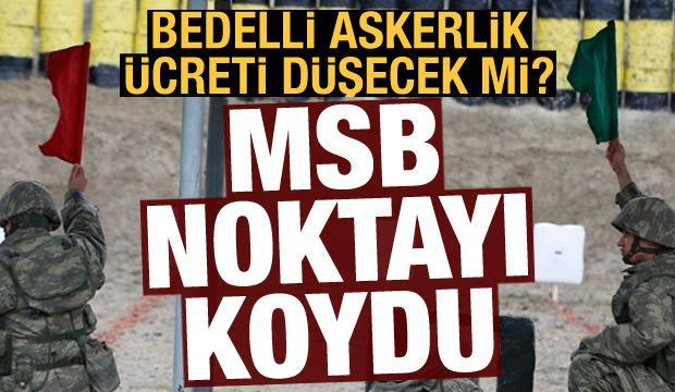 Son dakika haberi: Bedelli askerlik kaldırılacak iddiasına MSB'den yanıt