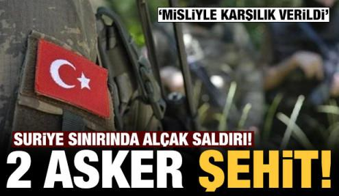 Son dakika: MSB'den açıklama: 2 askerimiz şehit oldu!