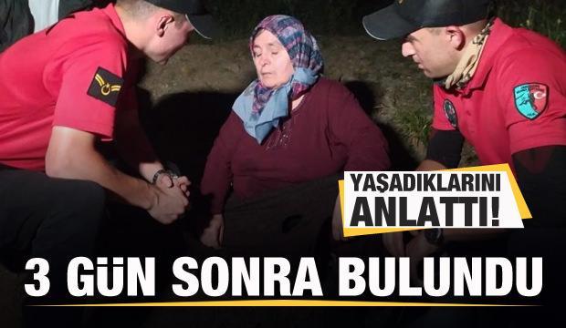 Uludağ'da kaybolan kadın 3 gün sonra sağ bulundu! Yaşadıklarını anlattı