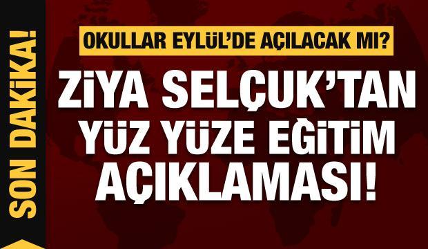 Ziya Selçuk'tan son dakika mesajı: Vaka sayıları patladı, okullar yüz yüze açılacak mı?