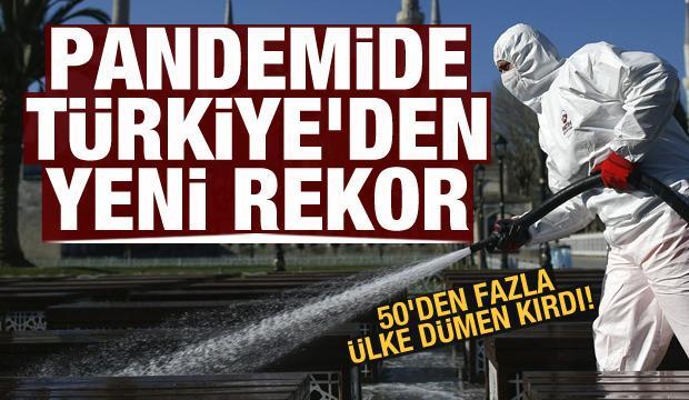 50'den fazla ülke dümen kırdı! Türkiye'den dev rekor!