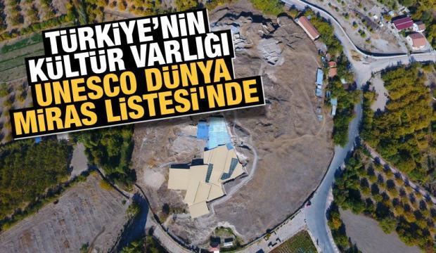 Arslantepe Höyüğü UNESCO Dünya Miras Listesi'nde