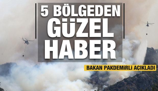 Bakan Pakdemirli'den THK iddialarına cevap! Orman yangınlarıyla ilgili sevindiren gelişme