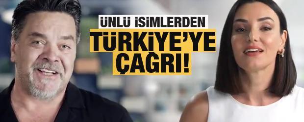 Beyaz ve Sevcan Orhan Türkiye'ye böyle seslendi