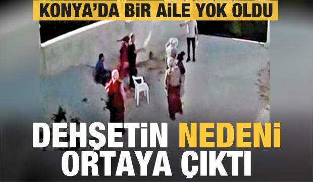 Konya'da bir aile yok oldu! Dehşetin Nedeni Ortaya Çıktı