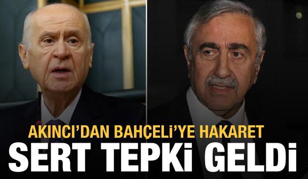 Devlet Bahçeli'yi hedef alan Mustafa Akıncı'ya MHP'den sert tepki