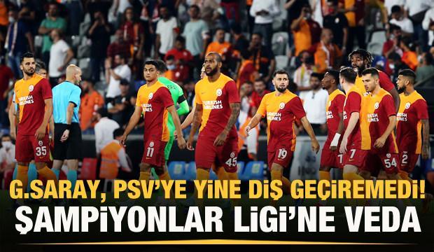 Galatasaray, Devler Ligi'ne veda etti!