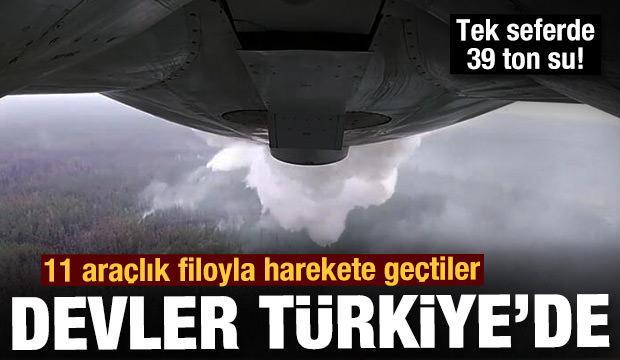 Havadaki devler Türkiye'ye giriş yaptı! Tek seferde 39 ton...