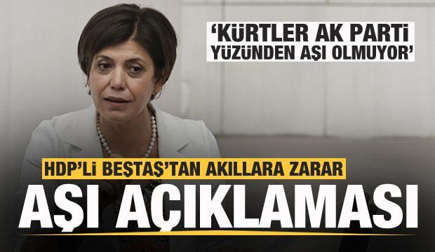 HDP'li Beştaş'tan akıllara durgunluk veren açıklama!