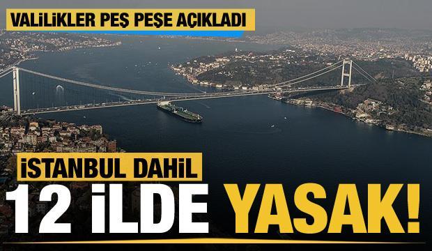 İstanbul dahil toplam 12 ilde ormana giriş yasağı
