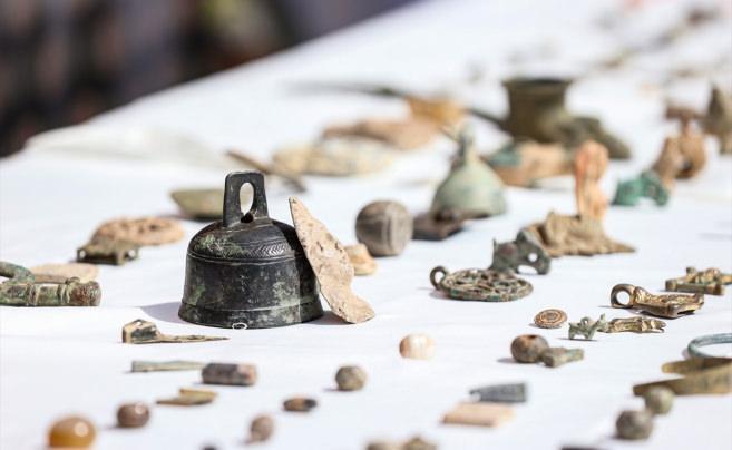 İstanbul'da 3 bin 248 parça tarihi eser ele geçirildi!
