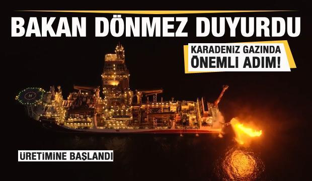 Karadeniz gazında geriye sayım sürüyor! Üretimine başlandı