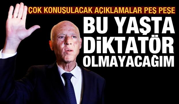 Kays Said: Bu yaşta diktatör olmayacağım