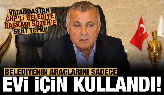 Kendi evini dozerlerle korumaya aldı: Halktan CHP'li Başkana sert tepki!