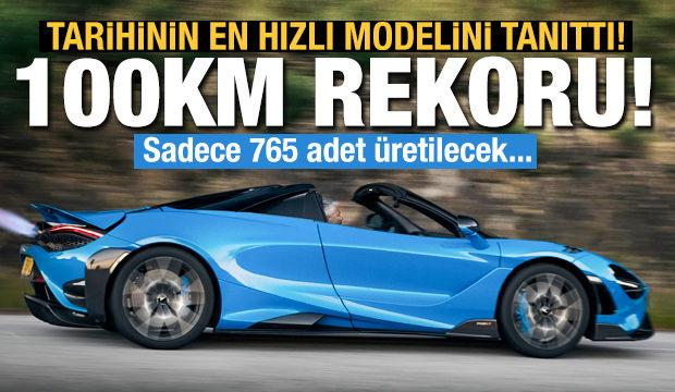 Mclaren tarihinin en hızlı modeli '765LT Siper'i tanıttı!