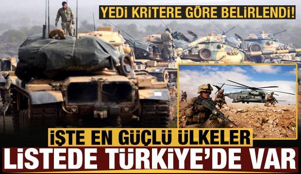 Onlar dünyanın en güçlü ülkeleri: Listede Türkiye de var