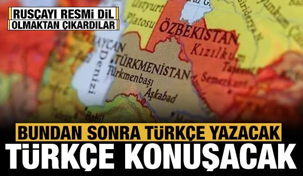 Özbekistan Rusçayı resmi dil olmaktan çıkardı: Türkçe konuşacak!
