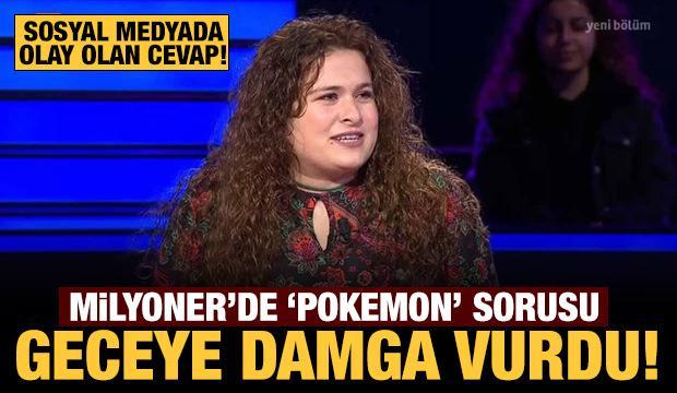 Pokemon sorusunda elendi: Sosyal medyada olay oldu!