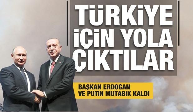 Son Dakika... Başkan Erdoğan'dan Putin'le önemli görüşme