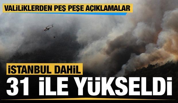 Son dakika... İstanbul dahil toplam 31 ilde ormana giriş yasağı