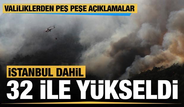 Son dakika... İstanbul dahil toplam 32 ilde ormana giriş yasağı