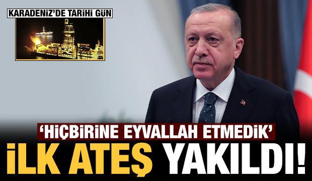 Son dakika: Karadeniz'de tarihi gün: Başkan Erdoğan'dan önemli açıklama!