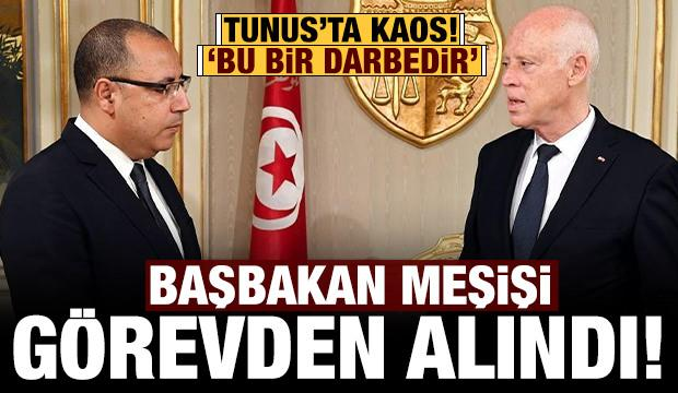 Son dakika: Tunus Cumhurbaşkanı Başbakan Meşişi'yi görevden aldı