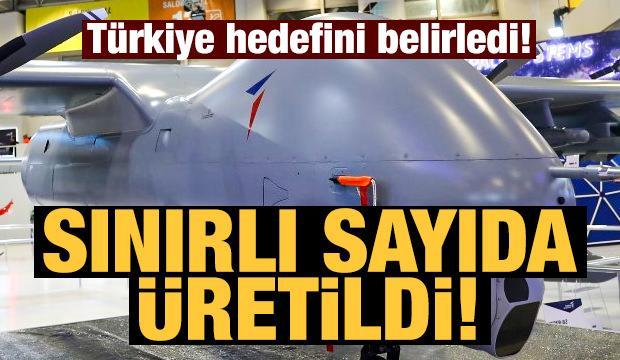 Türkiye sadece 5 adet üretti! Hedef dünyada ilk 10!