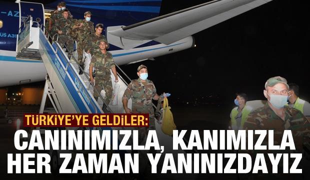 Türkiye'ye geldiler: Canımızla, kanımızla her zaman yanınızdayız