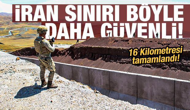 Van'ın İran sınırı modüler duvar ve teknolojik imkanlarla artık daha güvenli!
