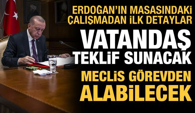 AK Parti'nin yeni anayasa hazırlığından önemli detaylar: Vatandaş kanun teklifi verecek