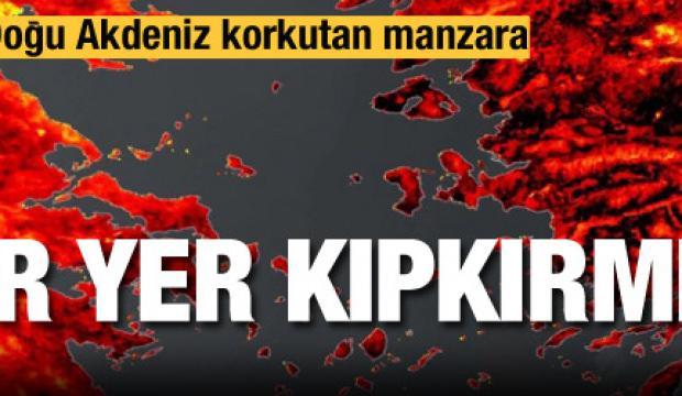 Akdeniz ülkelerinde korkutan sıcak hava alarmı!