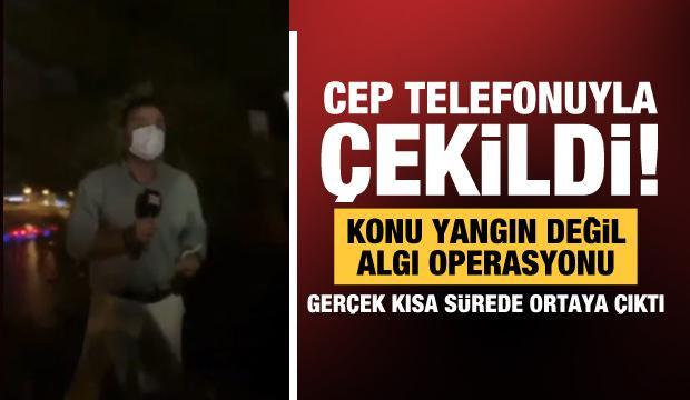 Canlı yayından bir cümle kesip 'TRT'nin yalan haberi' diye servis ettiler