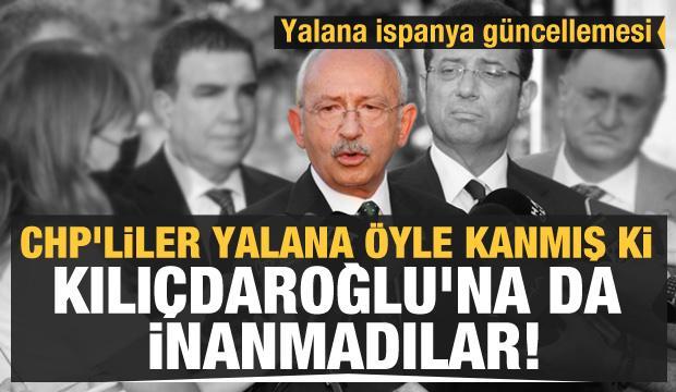 CHP'liler yalana öyle kanmış ki Kılıçdaroğlu'na da inanmadılar!
