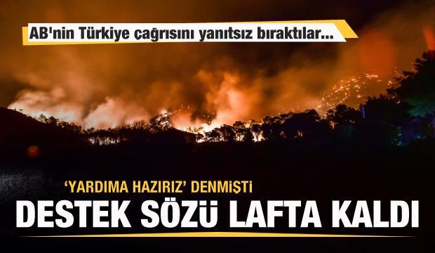 Destek teklif eden Yunanistan AB'nin Türkiye çağrısını yanıtsız bıraktı