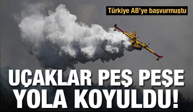 Dünyadan Türkiye'ye yangın desteği