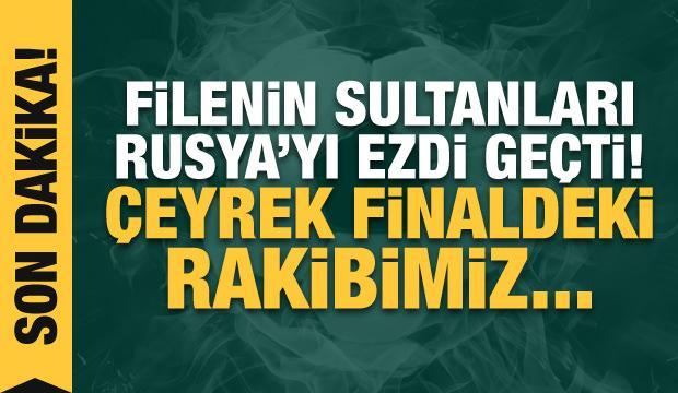 Filenin Sultanları çeyrek finalde!
