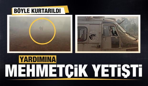 MSB görüntüleri paylaştı! Yardımına Mehmetçik yetişti
