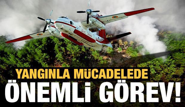 Orman yangınlarıyla mücadele! İşte kullanılan uçakların önemi...