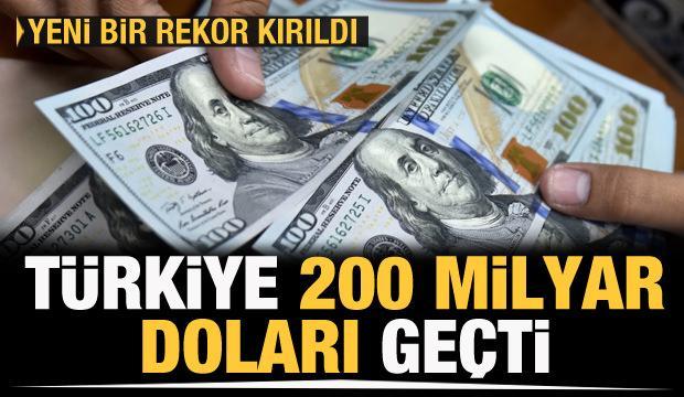 Son dakika: Bakan Muş duyurdu: İlk defa 200 milyar doları geçtik
