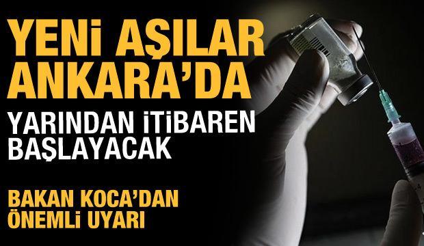 Son dakika haberi: BioNTech aşılarında yeni sevkıyat Ankara'ya ulaştı!