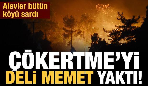 Son dakika haberi: Çökertme'yi 'Deli Memet' yaktı!