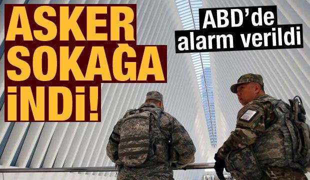 Delta varyantı ABD'yi vurdu: Asker sokağa indi
